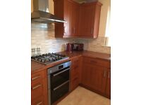 Like new kitchen units and worktop for sale. Only £500 ono