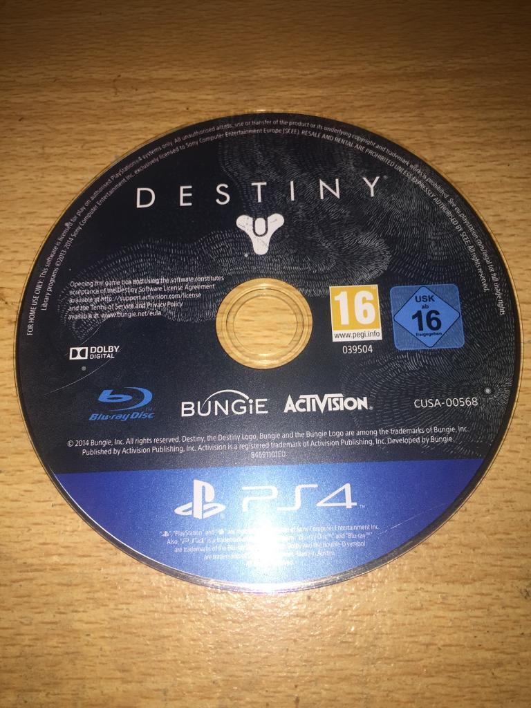 Ps4 Games DISC ONLY