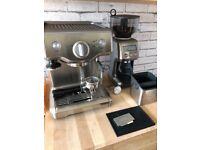 Sage Duo-Temp Pro Espresso Machine and Sage Smart Grinder Pro