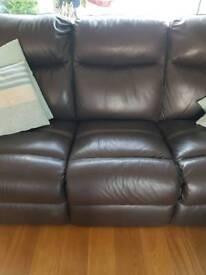 2 Fantastic leather sofas