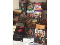60 DVD's AS NEW! FILMS & TV BOND EDDIE MURPHY CLINT EASTWOOD ETC & TV BOXSETS WILL SELL SEPERATELY