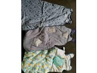 Baby boy sleeping bags x3