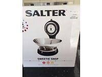 Kitchen Scales sweet shop design
