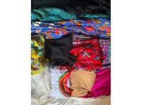 Bag of women casual clothes