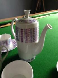 Shelley of England Fine Bone China Coffee Set.
