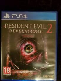 Ps4 resident evil 2 revalations