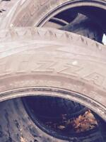Winter tires Blizzak size 255/60R19