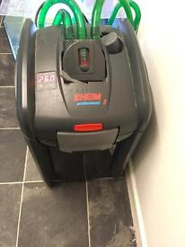 Eheim 2180 thremo external filter with built in heater professional 3 2080