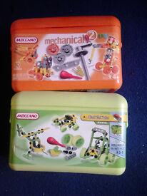 2 x Junior Meccano sets