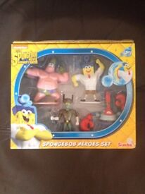 Spongebob figure set