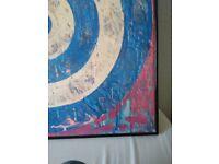 Jasper Johns print