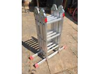 Werner 3 way ladder for sale fold up platform