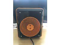 100% Genuine JCB 3kW Heavy Duty Fan Heater Workshop JCB3UF Industrial Warehouse