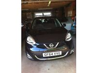 Black Nissan Tekna, Lady Owner from New Automatic, Low milage