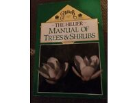 HILLIER MANUAL OF TREES AND SHRUBS BOOK