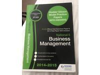 Hodder Gibson National 5 Business Management Past paper book 2014-2015