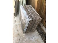 Large slabs x 5