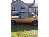 Wanted Vauxhall Chevette or Classic Mini