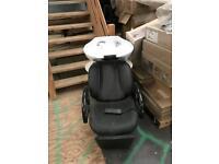 Salon electric backwash chair