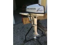 Honda Four stroke 5 Hp Out Board Engine