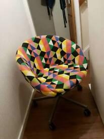 Ikea Skrusta Swivel Chair