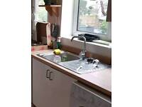 Sink and tap stainless steel