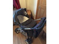 Silvercross Linear Pram/pushchair