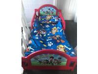 Toddler Bed - Paw Patrol
