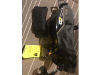 Boardman waterproof 1 L saddle wedge bag RRP £19.99