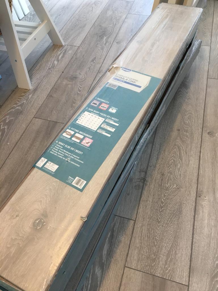 8 5m2 Wickes Shimla Oak Premium Laminate Flooring Underlay
