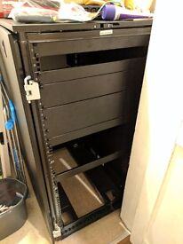 Dell PowerEdge 2420 24U Server Rack Cabinet Enclosure - Great Condition