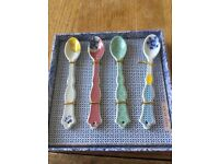 BRAND NEW: Made by Pip 4 piece Teaspoon