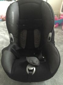Maxi Cosi Car Seat in good condition Group 1 9-18kg or 20-40lb, approximately 9 months to 4 years.