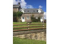 For Rent lovely Rural 2 Bedroom cottage Aberedw Mid Wales £425 per month