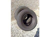 2 van tyres 225/70/15c