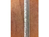 Thin Coat Angle Bead - 2.4mtr Galvanised Steel x 11 pieces.