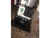 GoPro Hero 3+ with extra battery pack