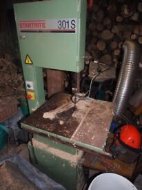 Startrite 301s bandsaw.