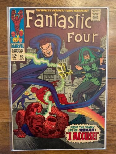 Fantastic Four 65 Silver Age Key Comic Book First Appearance