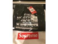 Supreme x Northface Black Hoodie
