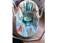 Bright starts swinging chair