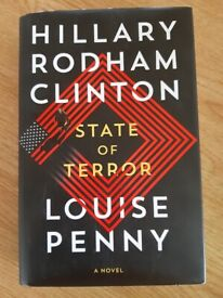 State of terror by Hilary Rodham Clinton and Louise Penny Hardback. New