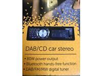 Bush DAB/CD car stereo radio - free antenna too