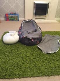 Beanbag for babies and small children