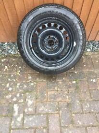 Single tyre