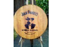 Oak Whisky Barrel Wall Plaque