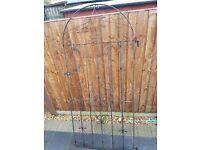 Wrought Iron Garden Gate