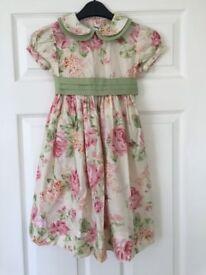Floral Dress (Size: 108cm)