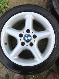 Yokohama Ad08r tyres with bmw alloys