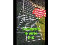 20 metre collapsible airer